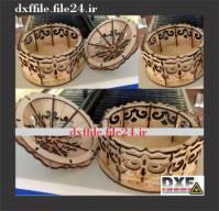 فایل DXF جا شکلاتی شماره 01